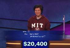 Saucy 'Jeopardy!' Winner's Final Answer Messed With Trebek
