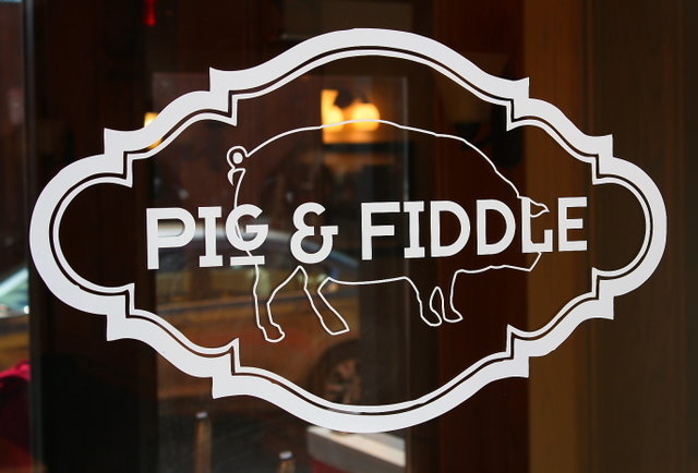 And by Pig & Fiddle they mean beer and more beer