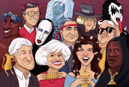 the 100 craziest celebrity rumors