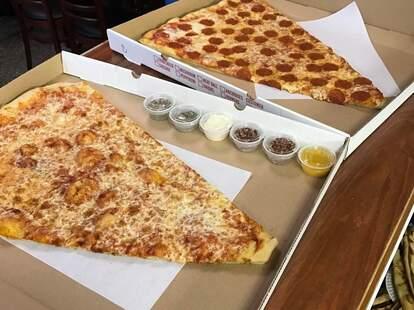 the pizza barn super slice