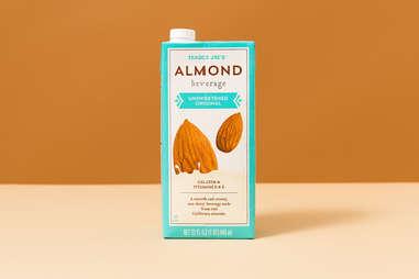 trader joes almond milk beverage unsweetened dairy free