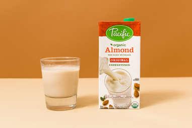 pacific foods almond milk original unsweetened dairy free
