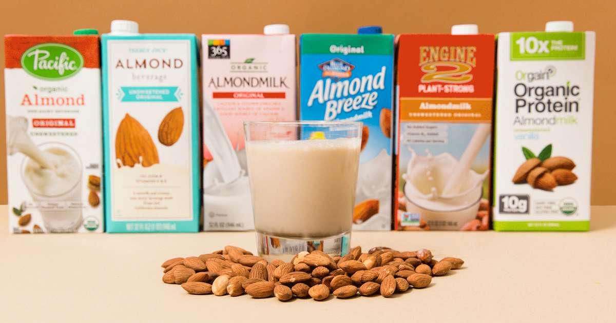 Best Almond Milk Brands, Ranked: Blue Diamond, Silk & More - Thrillist