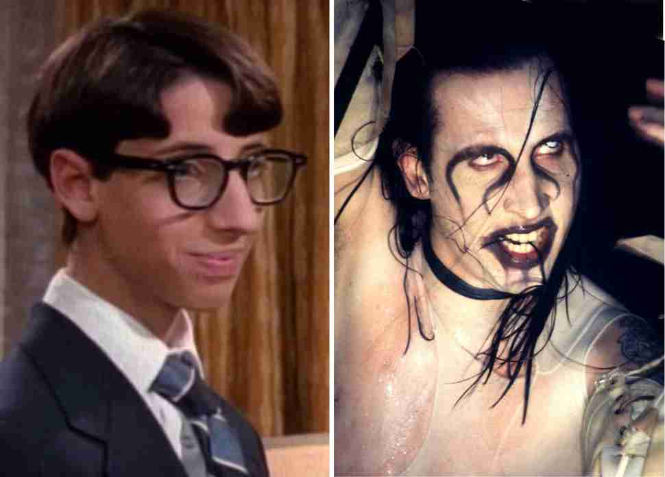 paul from wonder years is marilyn manson
