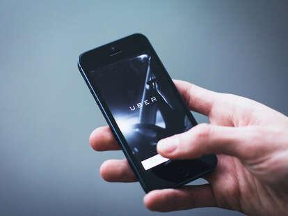 uber app phone