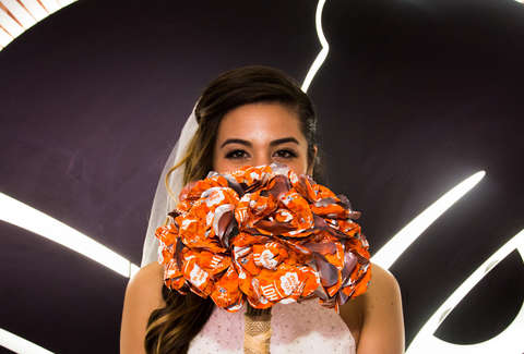 Taco Bell Wedding Dress: Bride-To-Be Creates Dress With Burrito ...
