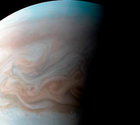 Photos of Jupiter from Juno