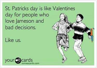 Valentine's Day St. Patrick's Day Meme