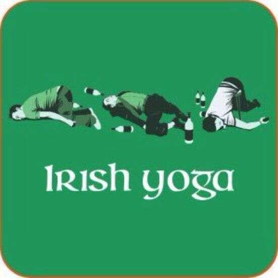 Irish yoga graphic