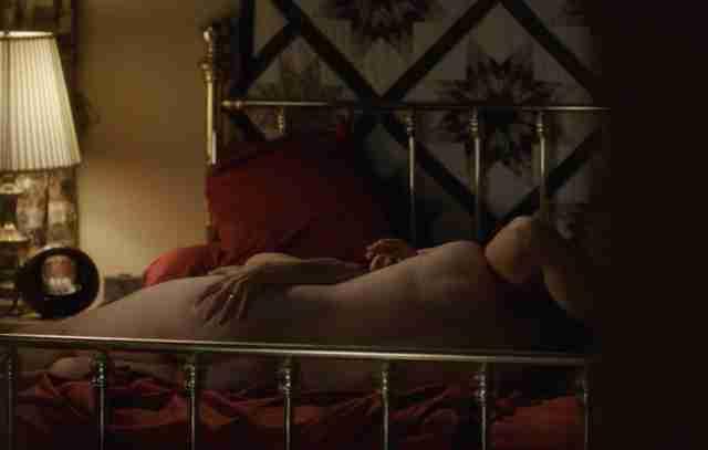 Sex scene in travel agents