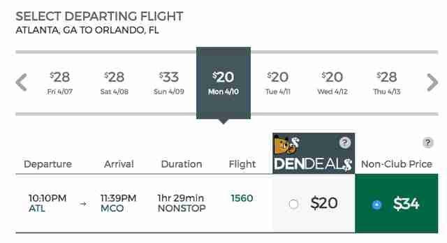 cheap flights in U.S.