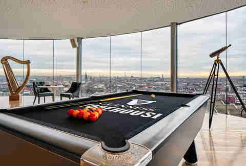 Spend the night at the Guinness brewery