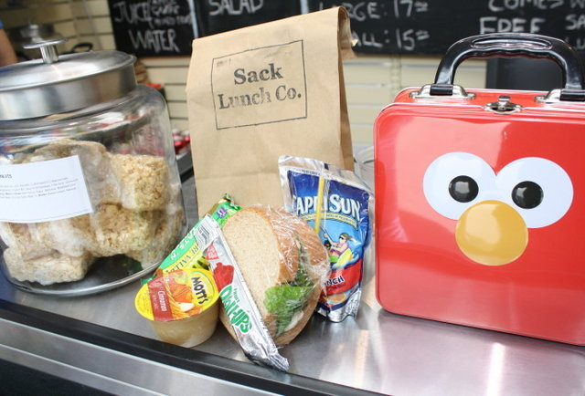 Your school lunch is back, with love from Mom
