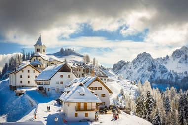 Mt. Lussari Village -  Tarvisio, Italy