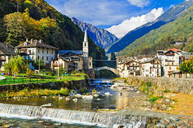 Lillianes in Valle d'Aosta
