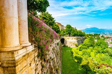Citta Alta in Bergamo