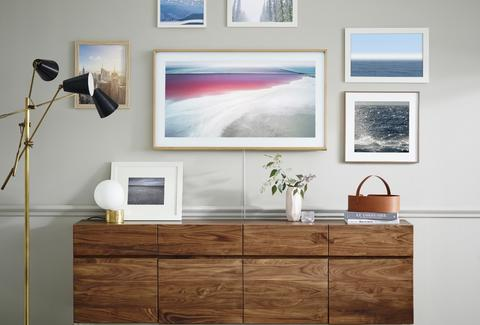 Samsungs The Frame Flatscreen Looks Like Wall Art Thrillist