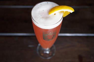 blood orange radler