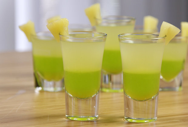 You Won't Miss College With This Lucky Melon Jell-O Shot