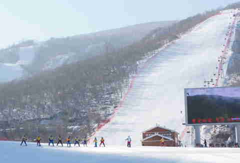 Masikryong Ski Resort, North Korea