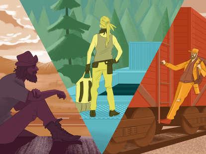 Hobo tips on riding rails