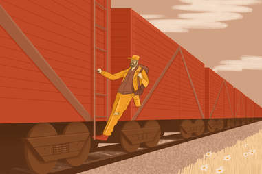Hobo tips for riding the rails