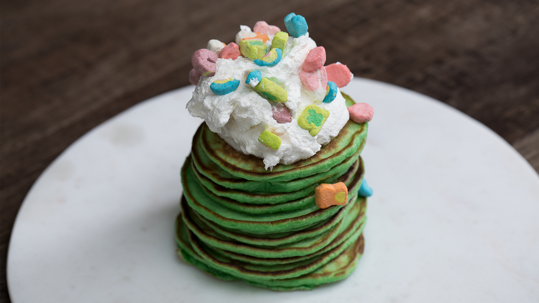 Start St. Patrick's Day Off Right With These Lucky Green Pancakes
