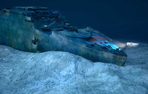 Now You Can Tour the Titanic's Underwater Wreckage