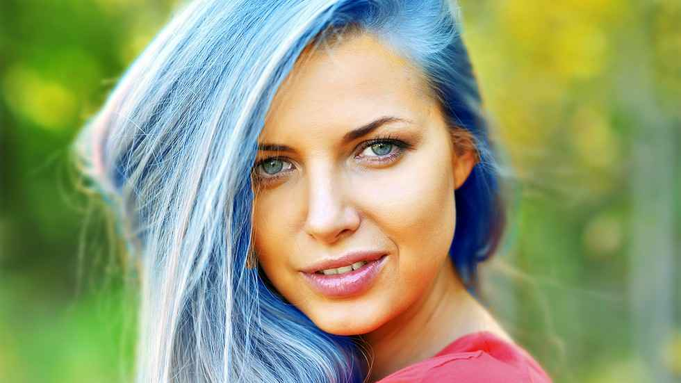Why Isn't Our Hair Naturally Blue?