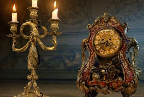 Beauty And The Beast Objects Remake Diseny While Trailers For Disneys