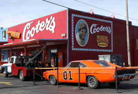 cooter's dukes of hazzard