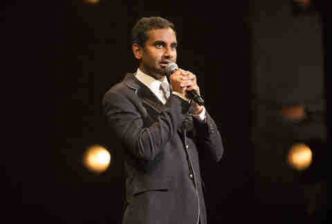 aziz ansari madison square garden