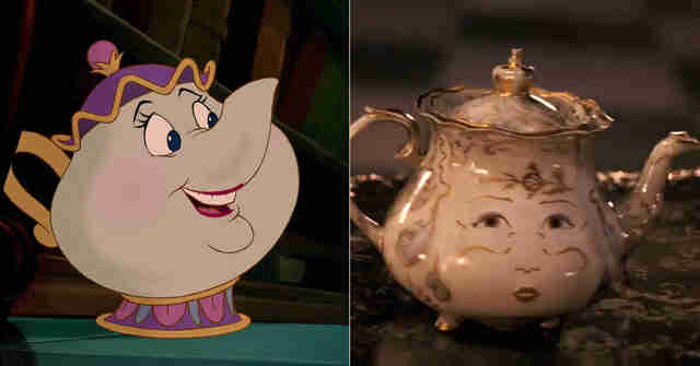 Beauty and the Beast Mrs. Potts