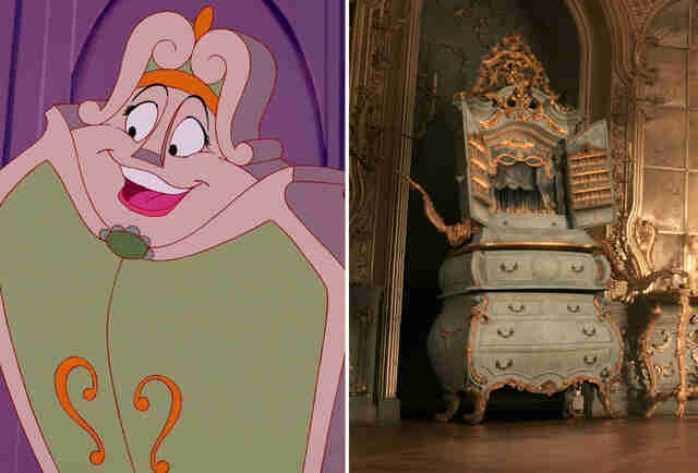 Beauty And The Beast Wardrobe