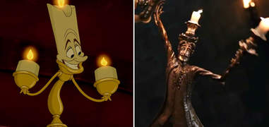 Beauty and the Beast Lumiere