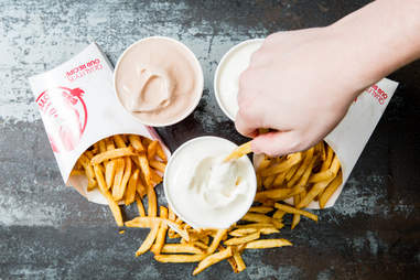 Fry and Frosty Combination