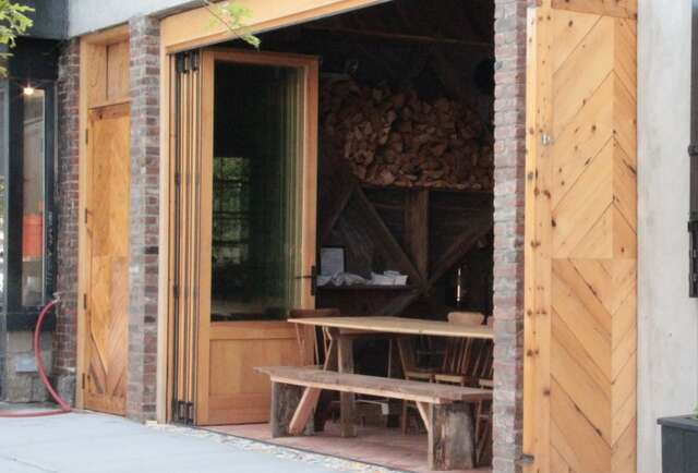 Wood fired goods in Williamsburg