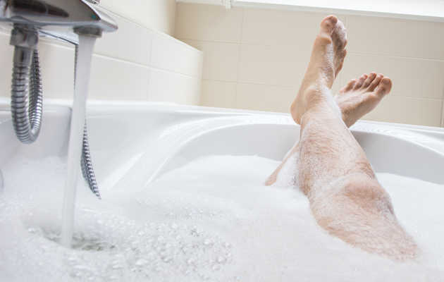 Taking a Bath May Be as Good For You as Working Out