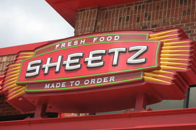 Sheetz sign