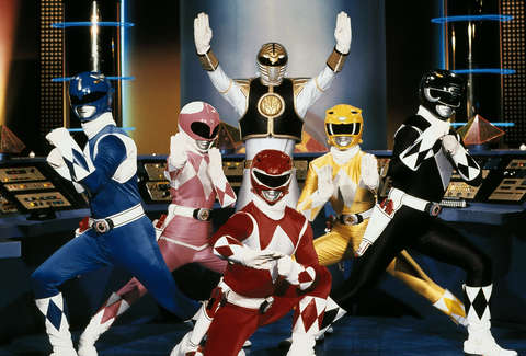 original power rangers japanese tv