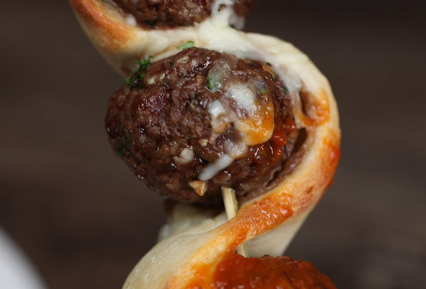 Meatball Sub on a Stick Makes Your Sandwich Even More Hands-Free