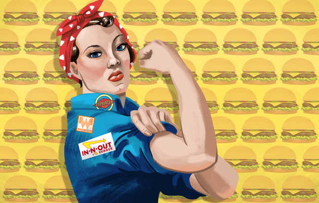 The Secret Feminist History of Your Favorite Burger Chains