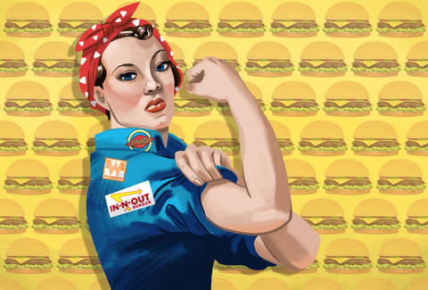 Women who built burger empires