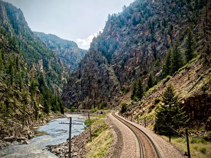 epic cross country train rides