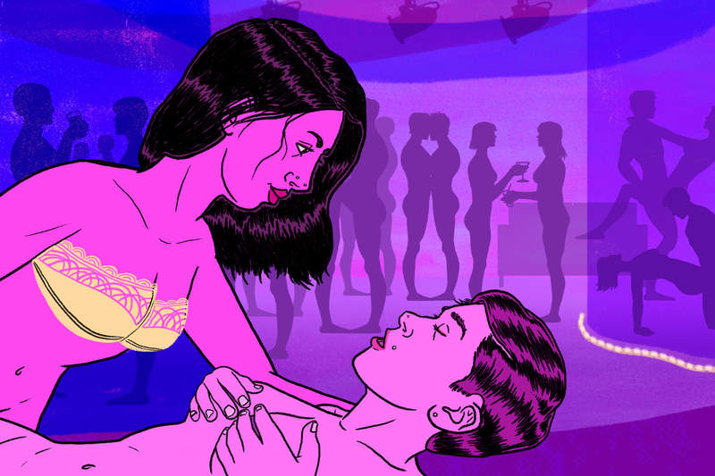 Sex in the early hookup stages