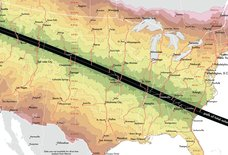 This Map Shows How Long You'll Have to Drive to See the Total Solar Eclipse