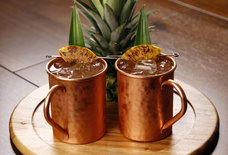Add Pineapple Vodka to Your Moscow Mule for a Tropical Kick