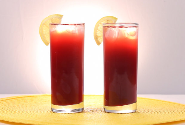 This Cranberry, Lemon, and Ginger Sparkler Is the Bubbly Drink You Need Right Now