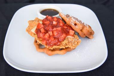 Funnel Cake Chicken Sandwich