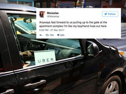 Uber Girlfriend story